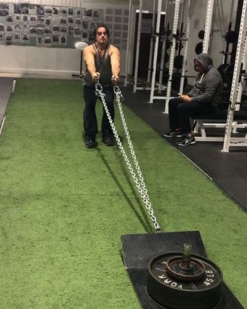 SLED BACK ROWS